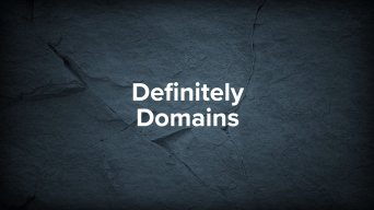 DefinitelyDomains